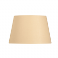 Beige Cotton Drum Fabric Lamp Shade 12 inch S901/12BE - Oaks Lighting